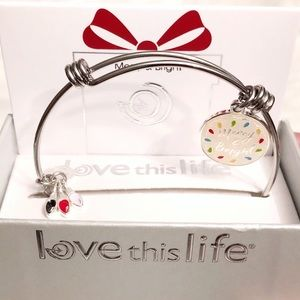 Fine Silver Plated Stainless Steel Bangle Bracelet